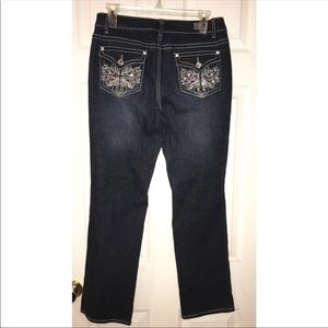 Earl Jeans Embellished Jeans, Size 6P